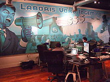 Rooster Teeth Rooster Teeths Office On Congress Street In Austin In 2008