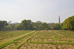 Mehrauli Archaeological Park - Rose Garden, Mehrauli Archaeological Park.