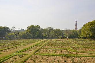 Mehrauli Archaeological Park - Rose Garden, Mehrauli Archaeological Park.