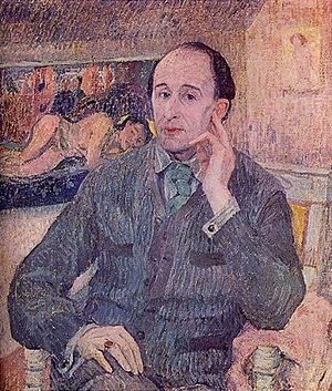 English: Portrait of Frederick Delius
