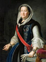 Portrait of Maria Josepha of Austria