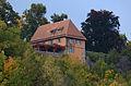 Rothenburg ob der Tauber, Panorama Alte Burg, Gartenhaus-002.jpg