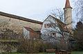 Rothenburg ob der Tauber, Stadtmauer, südlich Großer Stern, Feldseite, 001.jpg