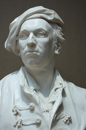 Louis-François Roubiliac - Roubiliac by Joseph Wilton, 1761, National Portrait Gallery, London