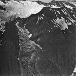 Rubble Glacier, mountain glaciers with bergschrund on the upper glacier, September 4, 1977 (GLACIERS 6788).jpg