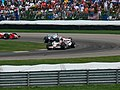 Rubens Barrichello, Jacques Villeneuve and Toyota 2006 Indianapolis.jpg