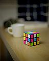 Rubik's Cube - Taken with Mamiya RZ67 Pro.jpg