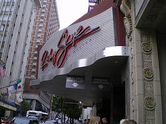 Ruby Skye - Front entrance of Ruby Skye in 2008