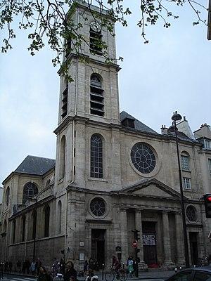 Order of Saint James of Altopascio - The church of Saint-Jacques-du-Hault-Pas, the first Altopascian foundation in Paris.