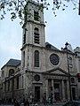 Rue Saint-Jacques Eglise saint Jacques du haut Pas.JPG