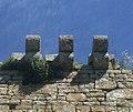 Rufus Castle, Portland - showing stone corbels.jpg