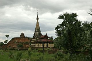 Inwa Place in Mandalay Region, Burma