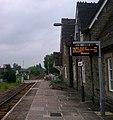 Rural railway station early morning – Bucknell - geograph.org.uk - 4003773.jpg