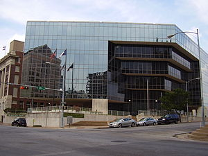 Texas State University System - Thomas J. Rusk State Office Building, the previous headquarters