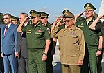 Russian Defence Minister visited tank division Revolutionary Armed Forces of Cuba and laid a wreath to the Soviet soldiers-internationalists memorial 05.jpg