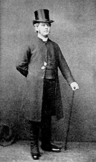 Rutland Barrington - Barrington as Dr Daly in The Sorcerer, 1877