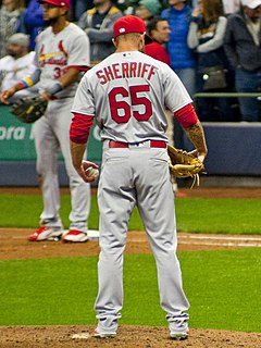 Ryan Sherriff American baseball player
