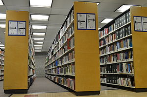 Library of Congress Classification - The PN-subclass shelf.