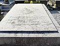 Sépulture de l'artiste peintre américain Myron Barlow dans le cimetière communal d'Étaples.jpg