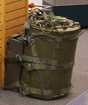 Suitcase nuclear device - H-912 transport container for Mk-54 SADM.
