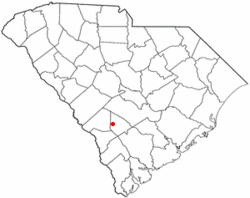 Location of Govan, South Carolina