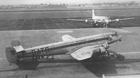 Il Se.161 Languedoc marche F-BATB dell'Air France all'Aeroporto di Parigi-Le Bourget nel 1951