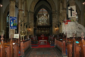 Hull Minster - The altar