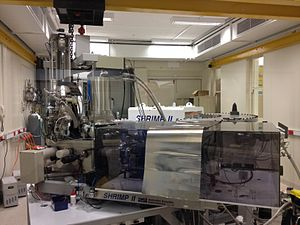 Provenance (geology) - Sensitive High Resolution Ion Microprobe (SHRIMP II) at Curtin University, Western Australia