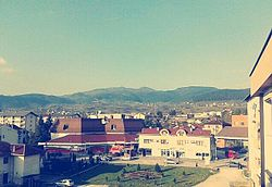 View on Šipovo from new Municipality building