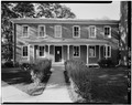SOUTH FRONT - Iowa Wesleyan College, Pioneer Hall, Broad Street, Mount Pleasant, Henry County, IA HABS IOWA,44-MOPLE,3-2.tif