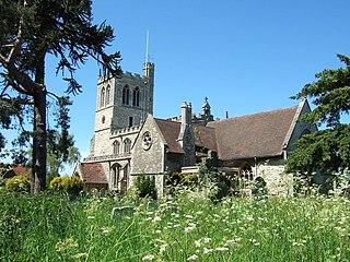 Wingrave village in the United Kingdom