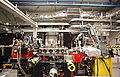 SXR beamline - Experimental end of the world's brightest X-ray Laser, generated by the Linear Accelerator at SLAC.jpg