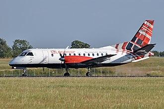 Loganair - Loganair Saab 340