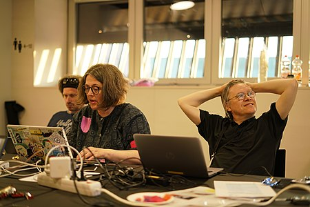 Saami languages Wikidata and SDoC workshop at 2019-06-05 Oodi, Helsinki, Finland 1.jpg