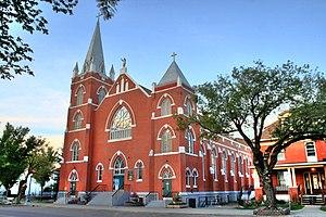Sacred Heart Church Edmonton Alberta Canada 05A