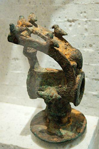 Dodona - Sacrificial hammer from Dodona. Bronze, 7th century BC. Louvre Museum