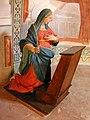 Sacro Monte di Ossuccio. Cappella 1. L'Annunciazione (particolare).JPG