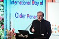 Saeed Namaki in the International Day of Older Persons ceremony in Milad Tower, Tehran 2019-10-01 02.jpg