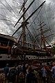Sail Amsterdam - Javakade - View SSW on Amerigo Vespucci, Italy.jpg