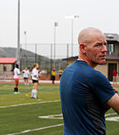 Sailor steps up as volunteer soccer coach 140627-Z-ZI015-007.jpg