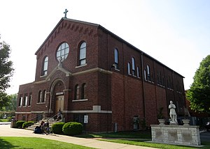 Bloomingdale, Illinois - The chapel at St Isidore Catholic Church on West Army Trail Rd.