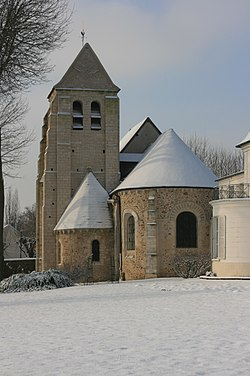 Church of Saint-Julien-de-Brioude, Marolles-en-Brie