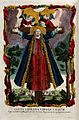 Saint Liberata. Coloured etching. Wellcome V0032528.jpg