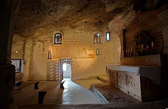 Petersfriedhof Salzburg - Catacomb chapel