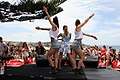 Samantha Jade performs at Bondi Beach (8457919408).jpg