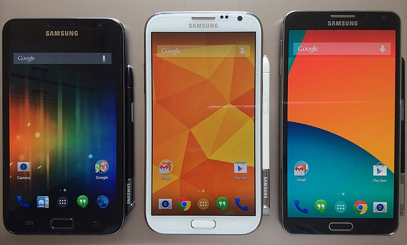 File:Samsung Galaxy Note series 20140614.jpg