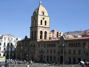 San Francisco Church (La Paz) - Image: San Francisco Bolivia