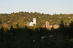 San Anselmo, California - View of San Anselmo