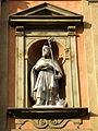 San Benedetto, facade, statue 2 (Bologna).JPG