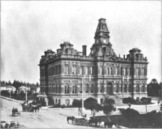 San Jose City Hall - San Jose City Hall around 1896